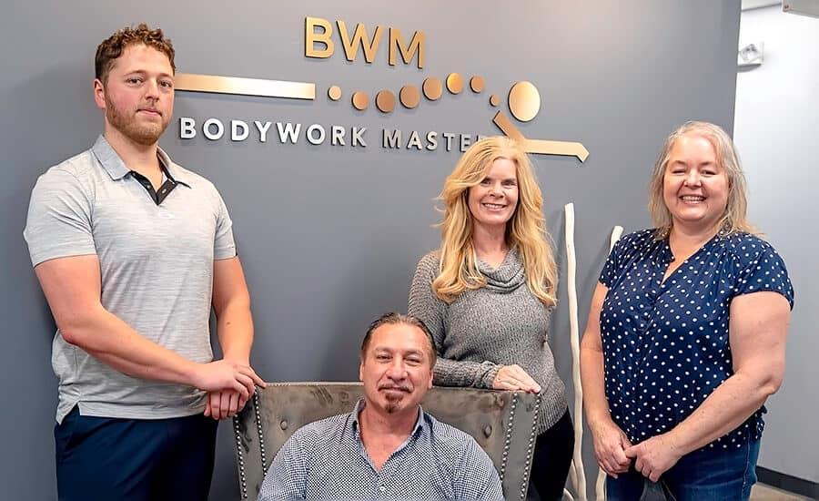 Bodywork Masters Team Kirk Dlugy, Bob Tricomi, Jennifer Velis, Babette Nerzig